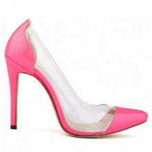 Scarpin - Transparente Pink