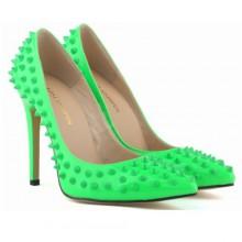 Scarpin - Verde com Spikes