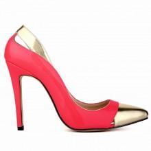 Scarpin - Vermelho e Dourado
