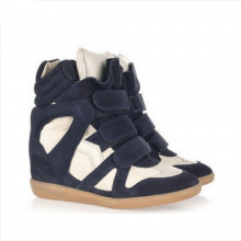 Sneakers - Azul Marinho e Branco