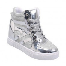 Sneakers - Prata