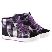 Sneakers - Xadrez Roxo