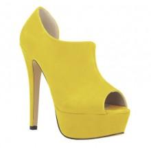 Summer Boot - Camurça Amarela