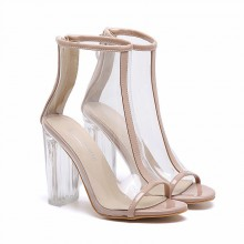 Summer Boot - Transparente Nude