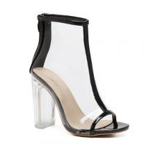 Summer Boot - Transparente Preta