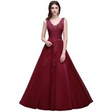 Vestido de Debutante com Flores - V00025