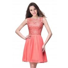 Vestido de Debutante em Renda - V00027