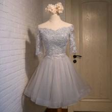 Vestido de Debutante Ombro a Ombro - V00031