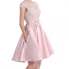 Vestido de Debutante Rosa - V00018