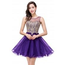 Vestido de Debutante Bordado - V00021