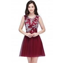 Vestido de Debutante Vinho - V00037
