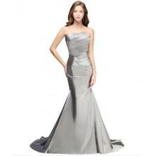 Vestido de Festa Cinza - V00020