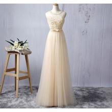 Vestido de Festa com Flores - V00006
