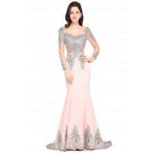Vestido de Festa Rosa - V00046