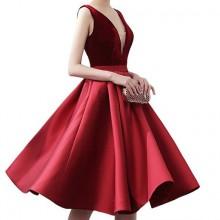 Vestido de Festa Vermelho - V00003