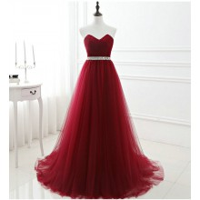 Vestido de Festa Vinho - V00017