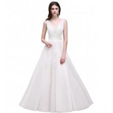 Vestido de Noiva com Flores - VN00008