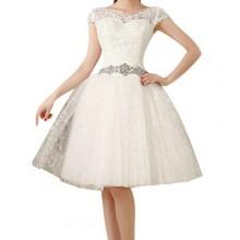 Vestido de Noiva Curto - VN00010