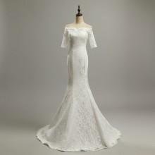 Vestido de Noiva Meia Manga - VN00012