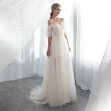 Vestido de Noiva Ombro a Ombro - VN00003
