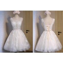 Vestido de Debutante Curto - V00016