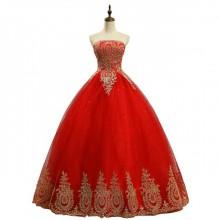Vestido de Debutante Vermelho - V00002