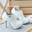 Ankle Boot - Verniz Branco