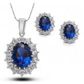 Conjunto da Princesa Azul